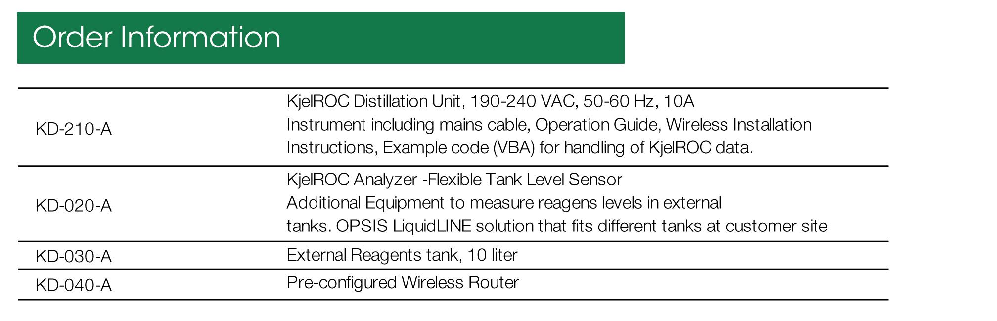 SalesSheet KD-210-A 20130319